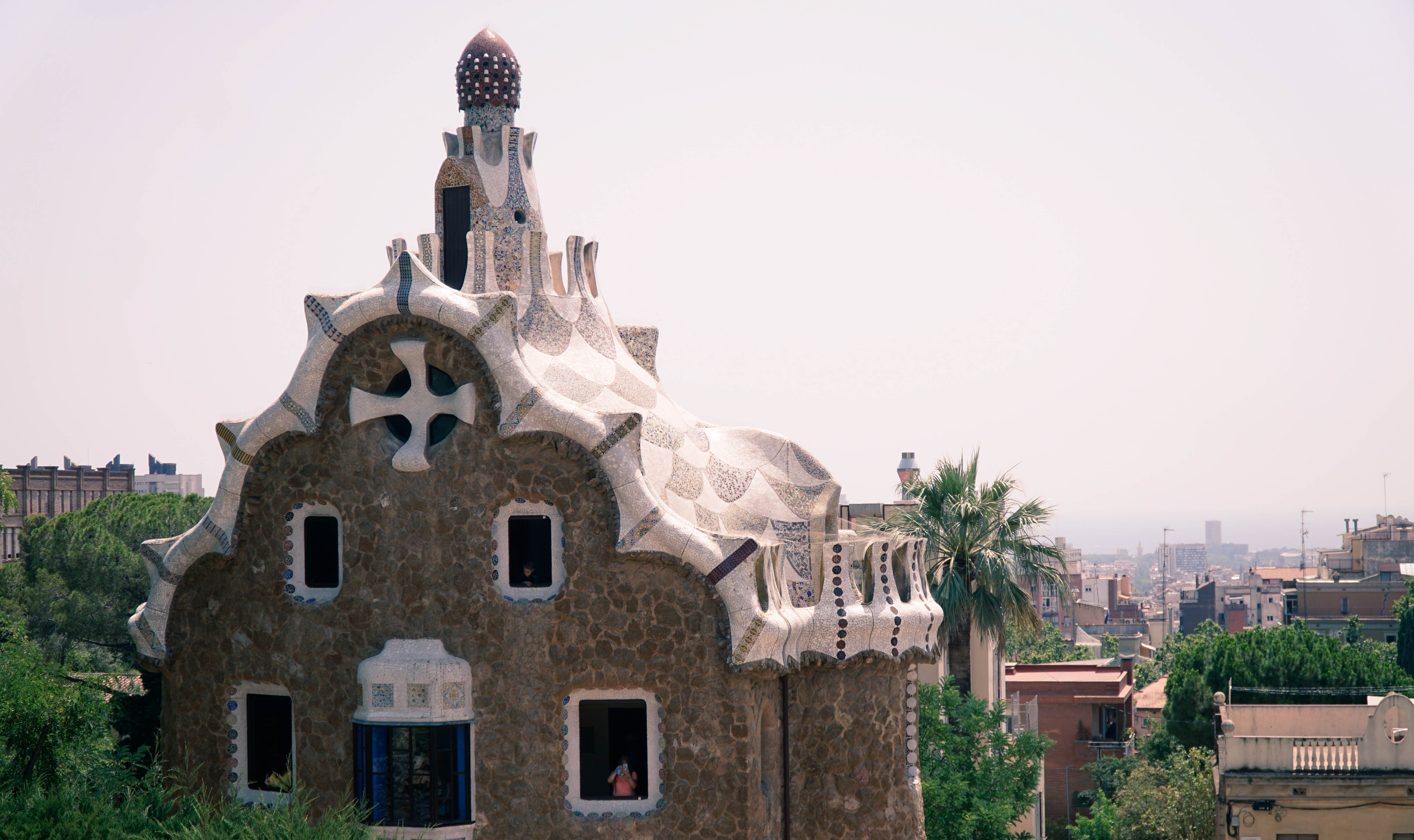 Park Guell house