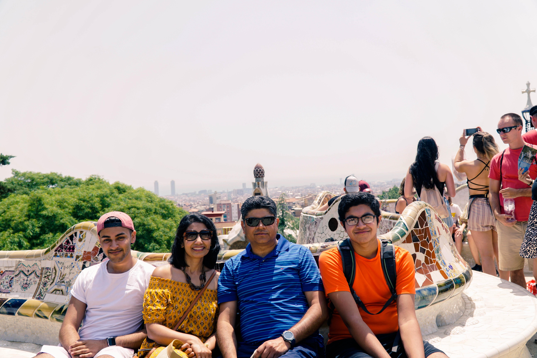 Park Guell skyline